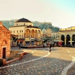 Monasteraki Square, Athens, Greece